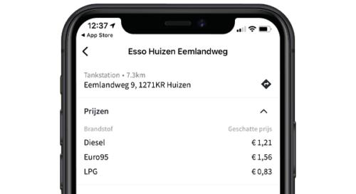 tankkaart app