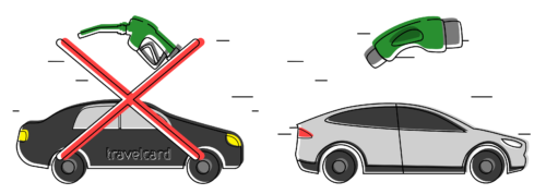 verplicht elektrisch rijden